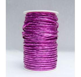 Fita embrulho tipo corda rosa