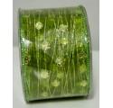 Leuchtend grünes Band