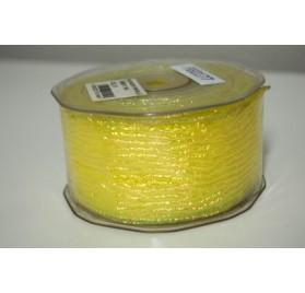 Fita organza amarela