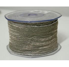 Fita tecido rede cinza