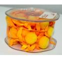 Tape Orange Pom-poms