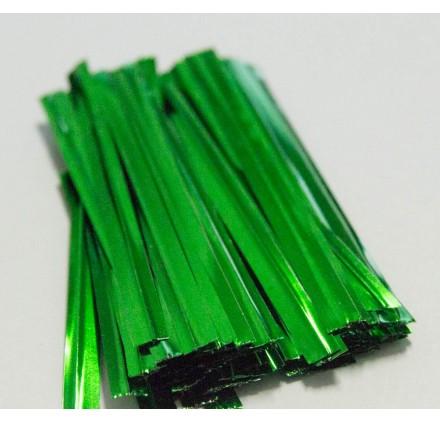 Atilhos para sacos verde