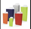 Sobres de colores de papel 11x25x5cm con cierre adhesivo