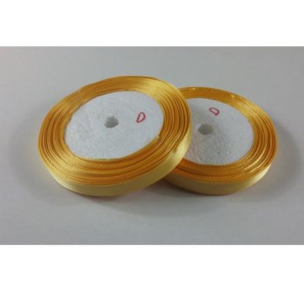 Fita Cetim 10mm 25 Metros - Amarelo