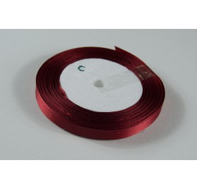 Fita Cetim 10mm 25 Metros - Vermelho