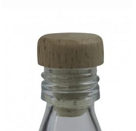 Cápsula madeira miniatura 100ml