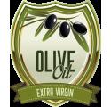 Bottle label olive oil 2