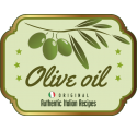 Bottle label olive oil 3