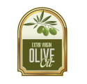 Bottle label olive oil 4