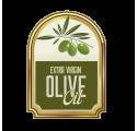 Štítek na lahvičku olivový olej 4