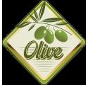 Étiquette de bouteille d'huile d'olive 5