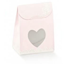 Κουτί λευκό μπάλες για 1 φιάλη με παράθυρο