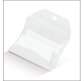 Cutie bile albe pentru 1 flacon cu geam