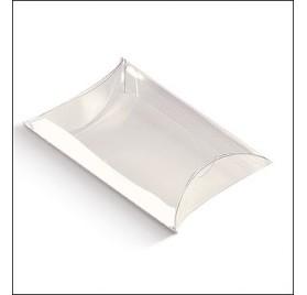 Gennemsigtigt acetat boks busta 100x100x35mm