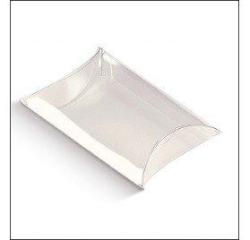 Transparente Acetat Box Busta 100x100x35mm