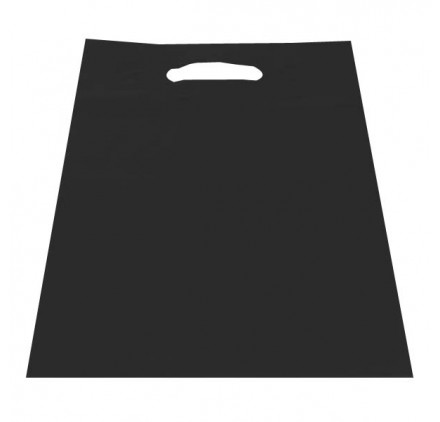 Leakead wing plastic bag 15x25 Black