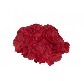 Ramette de papier de soie rouge