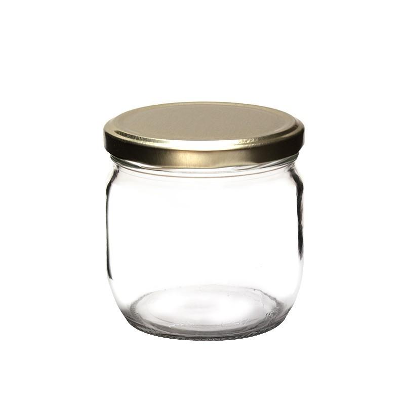 Tarros de cristal con tapa para mermelada crema o dulce - Tarros de cristal con tapa ...