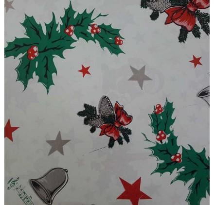 papel de embrulho liso branco natal3