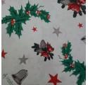Papel de regalo blanco liso con dibujos de navidad3