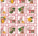 Papel de regalo blanco liso con dibujos de navidad5