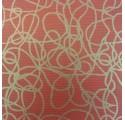 Kraft balicí papír verjurado přírodní červené čáry