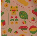 přírodní papír kraft verjurado hračky balení