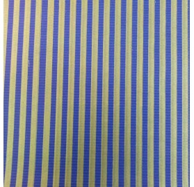 papel de embrulho kraft verjurado natural azul linhas