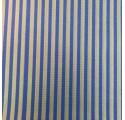Papel de regalo kraft verjurado natural azul con líneas