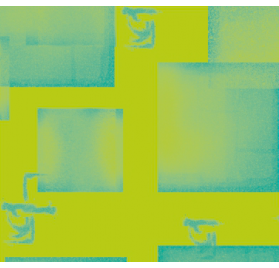 Kraft mørkeblå indpakningspapir