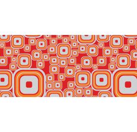 Gemetalliseerde polypropyleen oranje toekomstige 50 70 meter