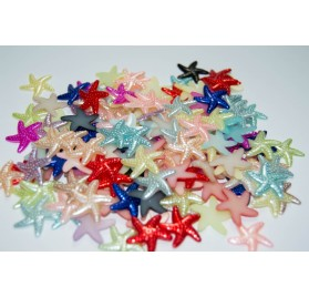 Estrelas multicoloridas para scrapbooking