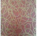 Kraft Papier Verjurado natürliche rote linhas3 Umhüllung