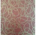 Papel de regalo kraft verjurado natural rojo con líneas3