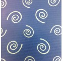 paper spiral blue verjurado natural kraft wrapping