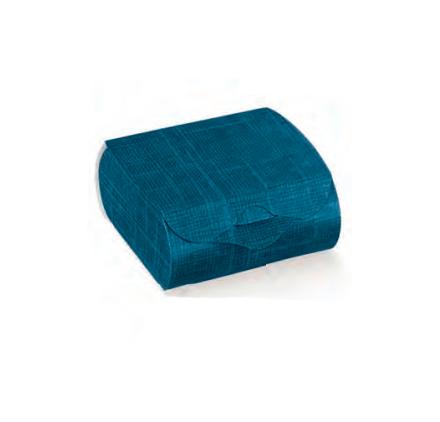 Caixa juta blu couvette 65x45x30mm