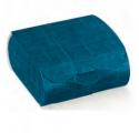 Jute box blu couvette 65x45x30mm
