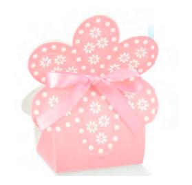 Caixa atelier rosa borsa flor 60x40x110
