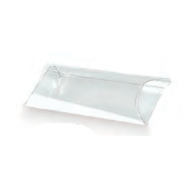 Caixa acetato transparente tubo 150x38mm