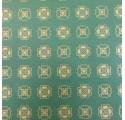 Papier naturel trèfle vert verjurado kraft emballage