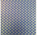 nátron csomagolópapír természetes kék verjurado szívek