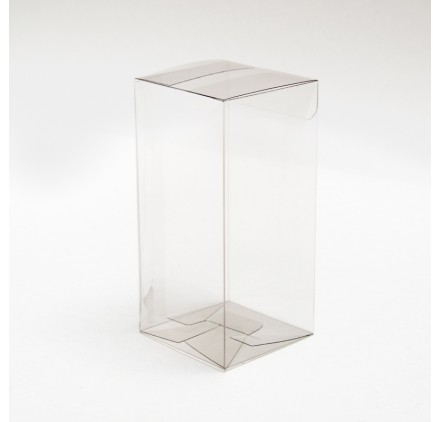 Caixa acetato transparente scatto 50x50x105mm