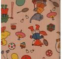 Kraft balicí papír děti přirozenou verjurado