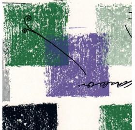 papel de embrulho liso branco quadrados