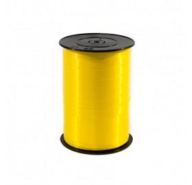Fita Embrulho Lisa Amarela 10mm