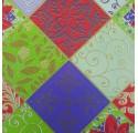 Obyčajný papier kvety obal