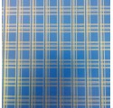 Blue Tavallinen paperi kääreeseen kultainen raidat
