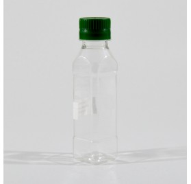 PET 100ml Vierkantflasche