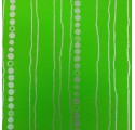 papel de embrulho liso verde con raias e circulos