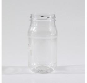 300ml PET flaske sylinderformet modell bl